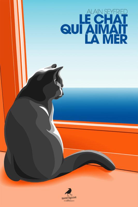 le chat qui aimaot la mer